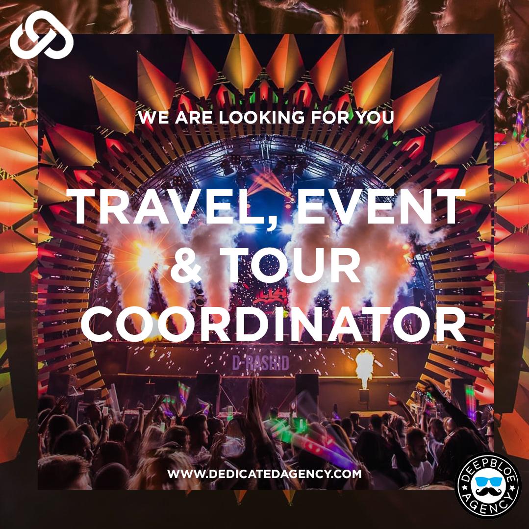 Job offer: Travel, event & tour coordinator